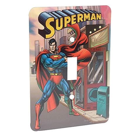 superman switchplate cover vandor superman home
