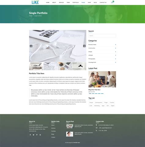 corporate html5 templates like html5 corporate responsive template by