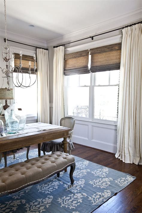 window treatments for dining rooms new curtains for the dining room cedar hill farmhouse