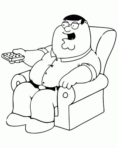 coloring pages for family guy family guy coloring page coloring home