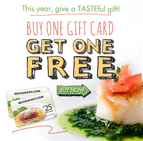 Opentable Gift Card Promo Code - bogo 25 gift cards from restaurant com