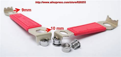 Baut Chainring Crank Bolt And Nut Chainring 1pc aliexpress buy 1pc chainring nut wrench chain ring bolt spanner maintenance tool chain