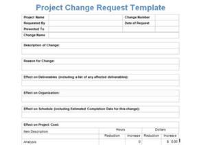 project management form templates project management change request form templates project