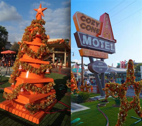 disney s cars land during the holidays travel advice by