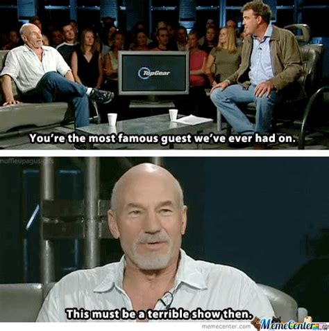 Patrick Stewart Memes - patrick stewart by suitman496 meme center