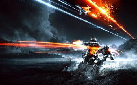 game gun wallpaper light video games blue guns smoke battlefield 3 shooting