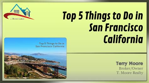 5 Things To About by Top 5 Things To Do In San Francisco California