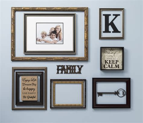 picture frame wall display open back frames wall display craft warehouse
