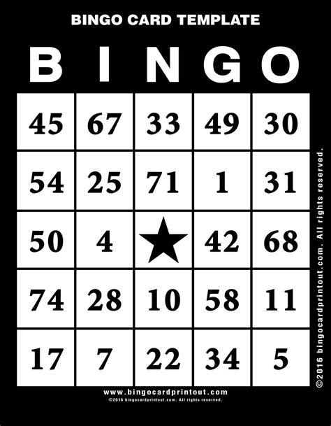https tipjunkie bingo card templates bingo card template bingocardprintout
