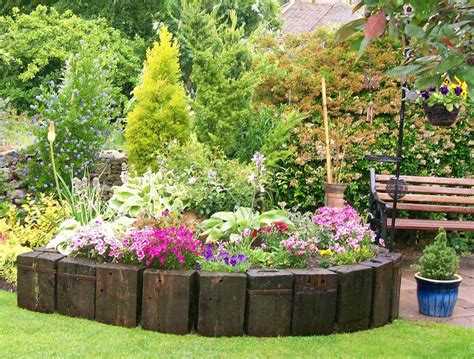 Create Beautiful Garden On Your Home With Flower Garden Ideas For Flower Gardens