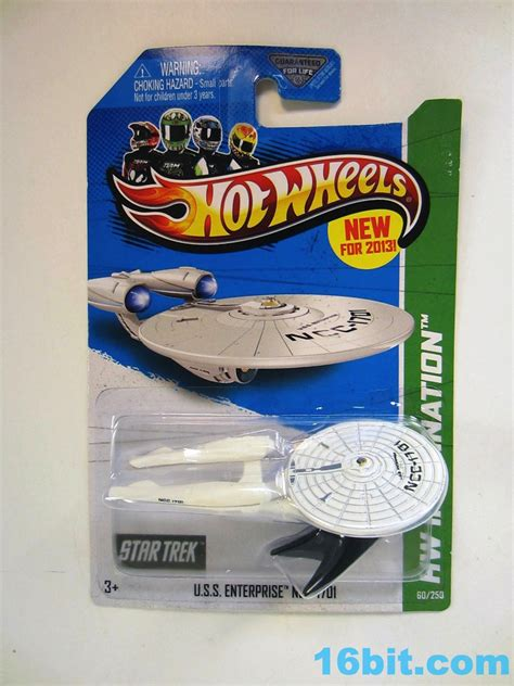 Hotwheels Seri Startrek 16bit figure of the day review mattel wheels trek u s s enterprise die cast metal
