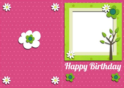 Birthday Card Template by 35 Happy Birthday Cards Free To