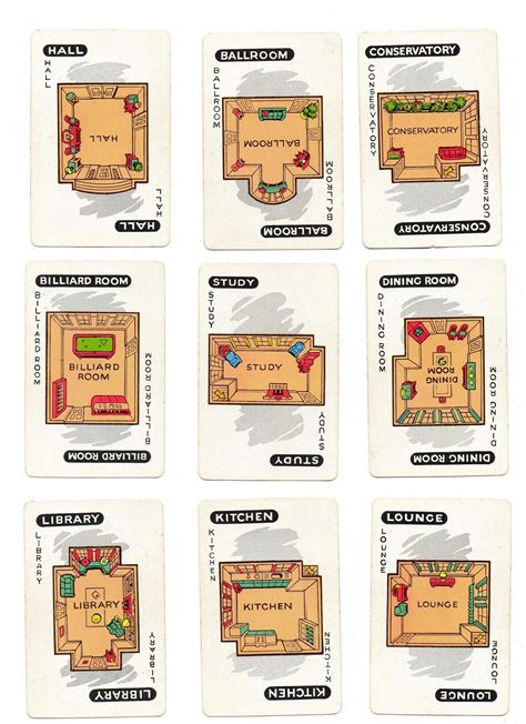 clue rooms clue room cards www pixshark images galleries with a bite