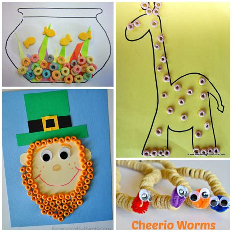 crafts with fantastic crafts using cereal crafty morning