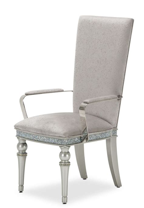 Aico Melrose Plaza Dining Arm Chair Set Of 2 Dining Arm Chair