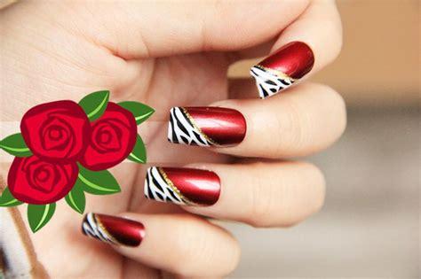 imagenes uñas decoradas rojas im 225 genes de u 241 as rojas im 225 genes