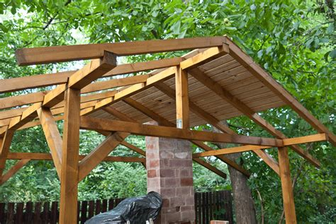 backyard shelter plans how to build a pizza oven shelter howtospecialist how