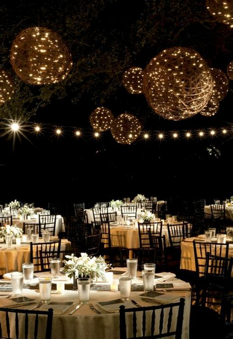 Outdoor Wedding Lighting Ideas Lighting Ideas For Weddings