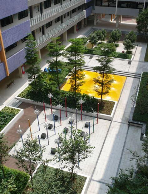 Landscape Architecture High School Courses Yi Zhong De Sheng Secondary School Foshan China