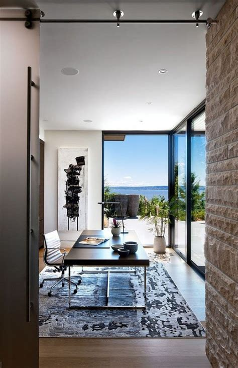 cool home offices 37 cool home offices with stunning views digsdigs