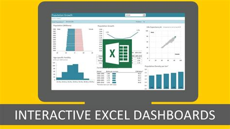 excel  interactive excel dashboards udemy