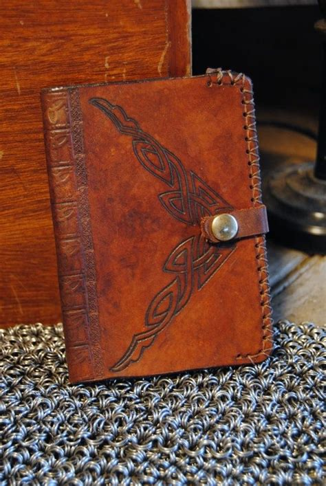 Handmade Leather Passport Cover - custom leather passport cover by airship