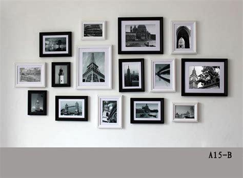 wand mit fotos gestalten bilderrahmen richtig aufh 228 ngen frames