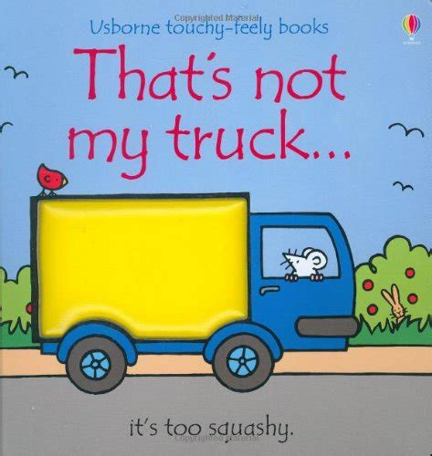 fiona s feelings books that s not my truck touchy feely board books by fiona