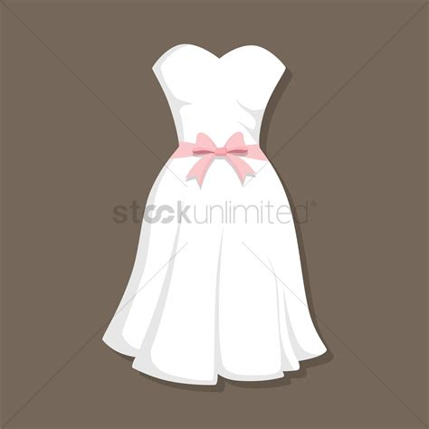 Wedding Dress Vector by Wedding Gown Vector Image 1380398 Stockunlimited