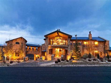 Floor Plans For A 2 Story House by 12 000 Square Foot Stone Mansion In Park City Ut Homes