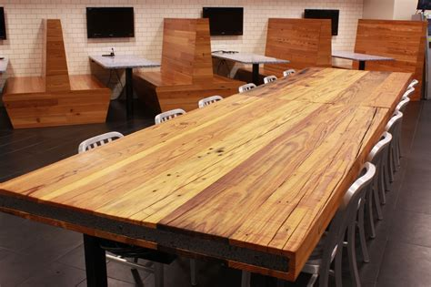 reclaimed dining table top rustic pine table top sir belly