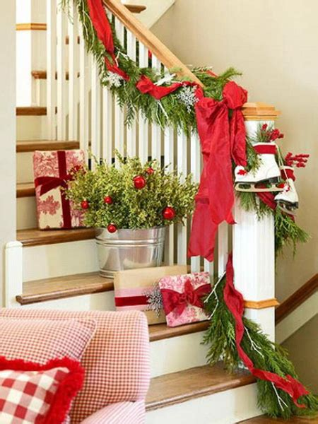 christmas decorating ideas fun ways to decorate stairs