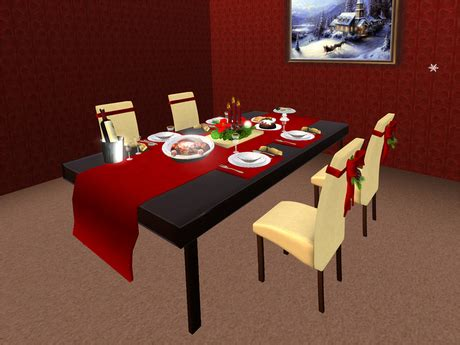 how to set a dinner table table set for christmas dinner home design