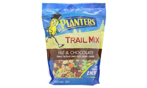 planters nuts and chocolate trail mix planters nut and chocolate trail mix 19 oz 6 pack groupon