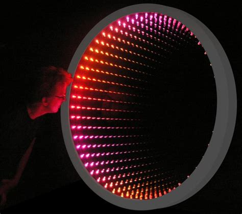 infinity mirrir color changing infinity mirror wall displays and tables