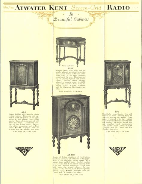Cabinet Arthur Hunt by Atworks Kent Radio Cabinet
