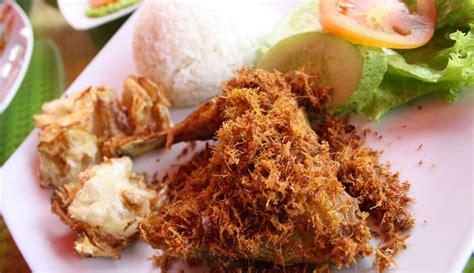 cara membuat jemuran ayam resep membuat ayam goreng serundeng enak resepmagz com