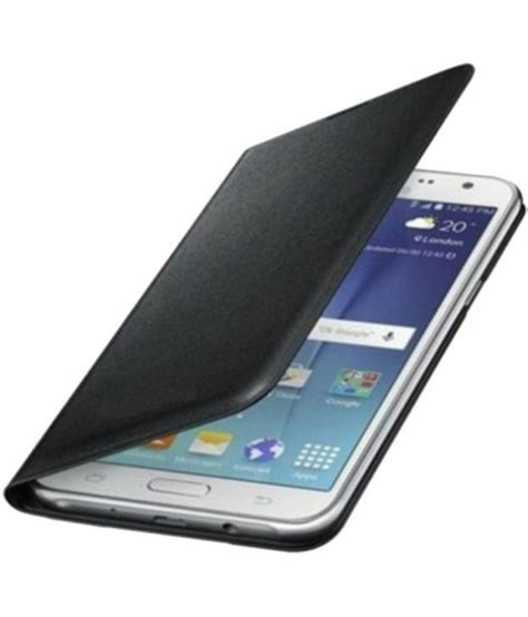 Book Flip Shell Samsung Galaxy J7 Prime samsung galaxy j7 prime flip cover by cel black flip covers at low prices snapdeal