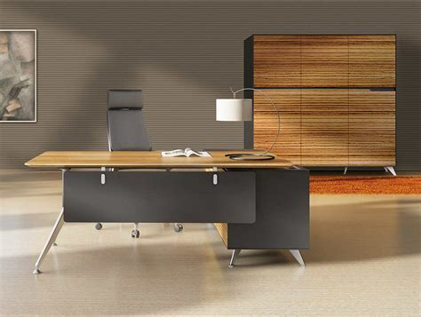unique office desk unique furniture 400 collection zebrano desk 482 with left