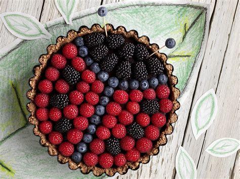 Amazing Christmas Bowls #8: Lady-bug-gluten-free-chocolate-tart.ashx