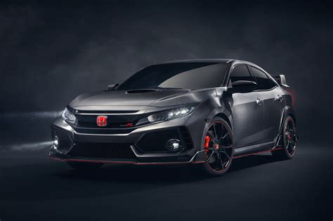 honda civic type r 2017 2017 honda civic type r prototype bows in at paris motor