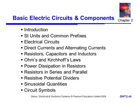 basic components of electric circuit basic electric circuits components ppt