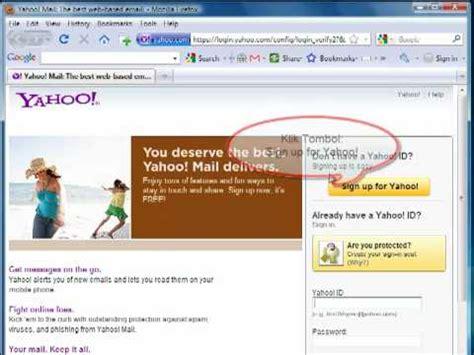 cara membuat email di yahoo youtube cara membuat email yahoo youtube