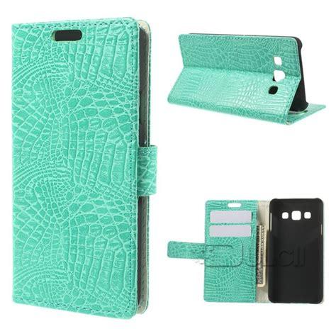 Samsung A3 2015 A300 Leather Flip Wallet Cover Murah buy galaxy a3 a300 a300f crocodile skin wallet