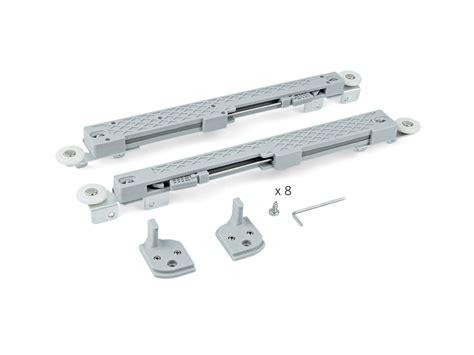 ammortizzatori per cassetti set di ferramenta per anta con slowmove ammortizzatori