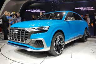 Audi Q8 Pics New Audi Q8 Concept At The Detroit Motor Show By Car Magazine