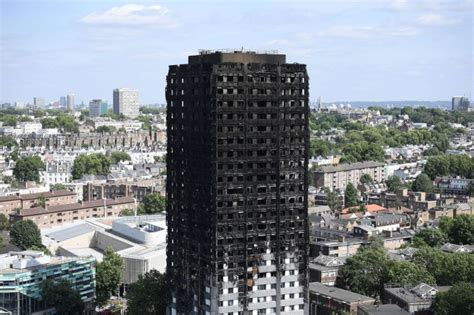 How Many Floors Were The Towers by When Was Grenfell Tower Built The Address And How Many