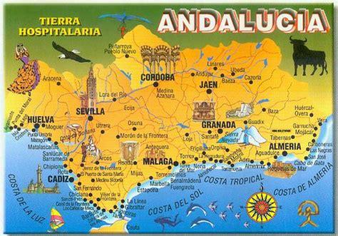 map  andalucia spain  disneydiddl rubycantfail