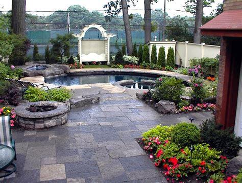 Patio Armor Canada Backyard Pool Landscaping With Wiarton Square Cut