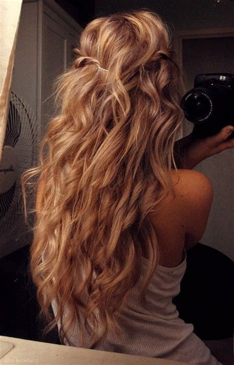 loose curl perm long hair long hair loose perm fashion pinterest
